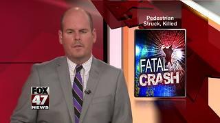 Pedestrian struck, killed in Eaton Co.