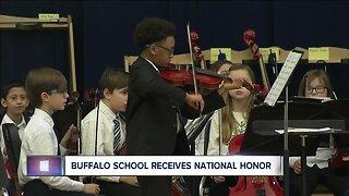 Buffalo school receives national honor