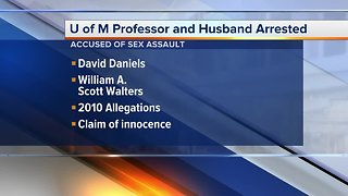 University of Michigan professor and husband arrested, accused of sexual assault