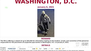 Officers searching for DC Pipe Bomb suspect