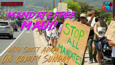 Mandate Free Maui - Hawaii Fights Back on Comfy Sunday