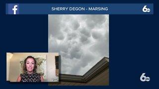 Rachel Garceau explains mammatus clouds