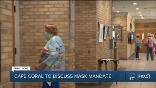 Cape Coral leaders to discuss face masks policy