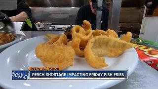 Perch shortage has local restaurants removing item off menu