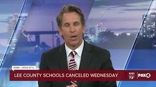 Lee County schools closed