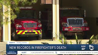 New records in Cal Fire training death
