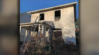 Elderly man dies in fire on Cleveland's West Side Saturday morning