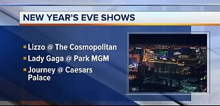 Top concerts on New Year's Eve