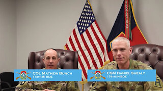 174th Infantry Brigade Command Team Speaks on Black History Month