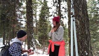 Sweet & heartfelt marriage proposal captured on camera