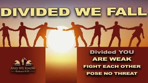 ~4.5.21: DEMONIC DIVISION IS RUNNING RAMPANT AS VICTORIES OCCUR! WE ARE #INITTOGETHER! PRAY!