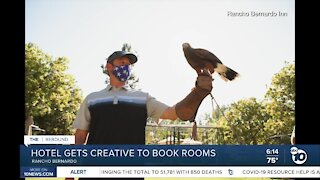 Rancho Bernardo hotel gets creative to book rooms