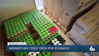 Meriwether Cider rebound tease