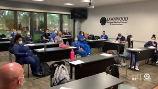 Nurses from other states arrive to help Florida health workers overwhelmed by coronavirus