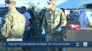 Valley food banks in need of volunteers as many face food insecurity amid pandemic