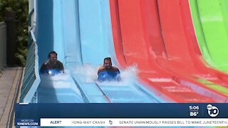 San Diegans finding creative ways to stay cool during heatwave