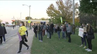 Dozens arrested, no serious injuries following protests in Wauwatosa