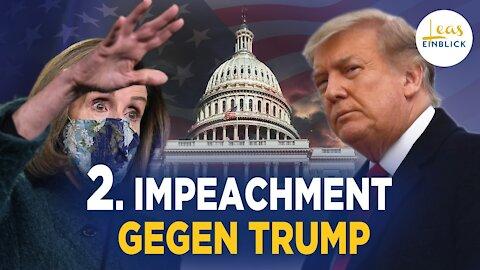 So geht es weiter mit dem Trump-Impeachment. Trump eröffnet eigenes Büro.