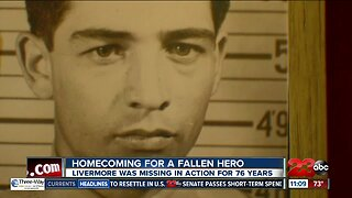 Remains of World War II Marine returning to Bakersfield