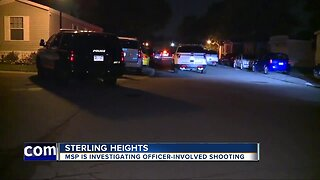 Sterling Heights Police investigating officer-involved shooting