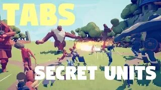 TABS - where to find secret units