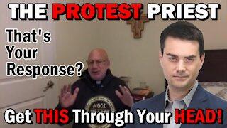 The Protest Priest   Fr. Imbarrato Live- 1/4/2021