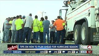 Tips on how to plan ahead for hurricane season