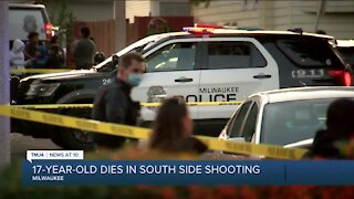 17-year-old dies in shooting on Milwaukee's south side