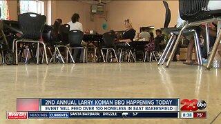 2nd Annual Larry Koman BBQ feeds 150 at Bakersfield Homeless Center