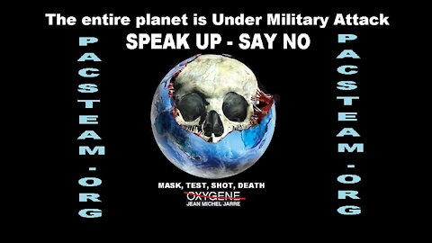 The entire planet is Under Military Attack - SPEAK UP - SAY NO