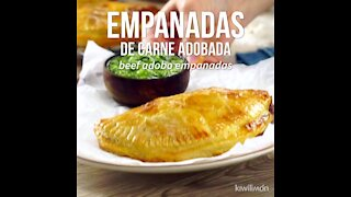 Marinated Meat Empanadas