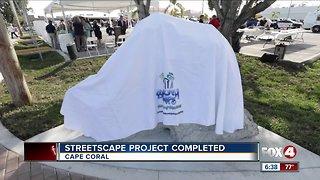 Streetscape project complete cape coral