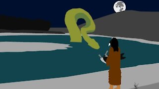 First Nations Folklore: The Giant River Snake of Southern Alberta