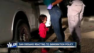 San Diegans react to immigration policy