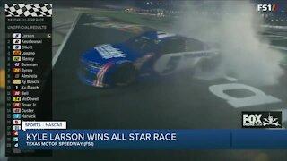 Kyle Larson wins All-Star Race