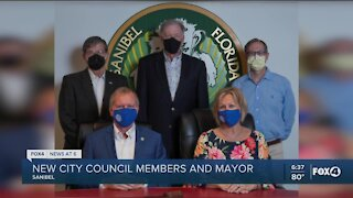 New City Council members and Mayor in Sanibel