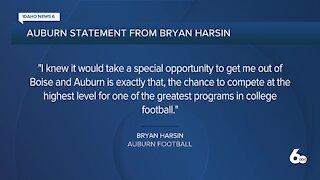Auburn officially announces Bryan Harsin as head coach