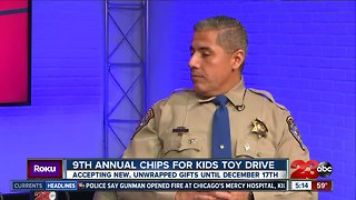 CHiPS for Kids Toy Drive starts today