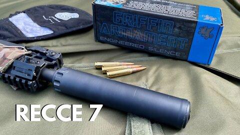 Silencer Shop Authority - Griffin Armament Recce 7 Suppressor