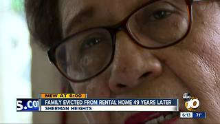 Family evicted from Sherman Heights home after 49 years