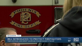 Bill introduced to protect firefighters