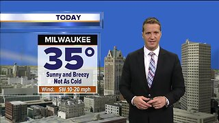Warmer temperatures on their way for the weekend