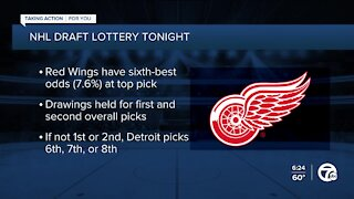 Red Wings enter draft lottery with sixth-best odds at top pick
