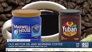 Outdated motor oil and coffee; Do you qualify for money from these lawsuit settlements?