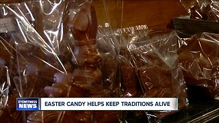 Chocolate bunnies and candy help keep Easter traditions alive