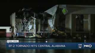 Tornado hits Alabama