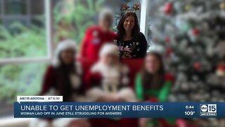 Arizonans unable to get unemployment benefits