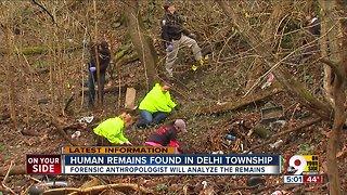 Human remains found in Delhi Township