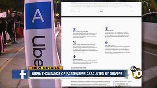 Uber: Thousands of passengers assaulted by drivers