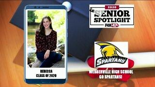 Webberville High School Senior Spotlight - Rebecca